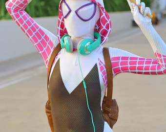 High Quality New Marvel Spider-Gwen / Gwen Stacy 3D Printing Costume