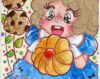"""ACEO Print """"Cookie Treats"""""""