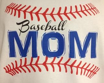 Baseball Mom Stitches T-shirt