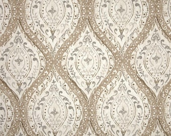 Ariana Linen cotton fabric by the yard ikat Magnolia Home Fashions