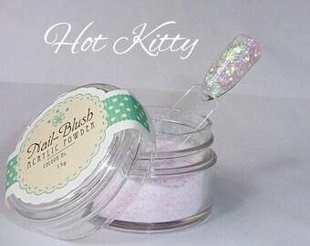 Acrylic nail powder Hot Kitty 15g by Nail-Blush