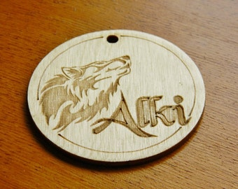 Laser Etched Hardwood ~ Business Logos, Sports team, Family or School Reunion Souvenirs, Group Event Memento