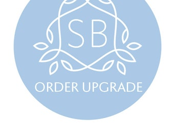 Upgrade Option for Something Blue Orders