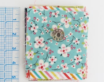 Quilting Cotton Fabric Scraps | One ounce of small fabric pieces to use for patchwork, doll clothes, textile jewelry, fabric beads, or EPP.