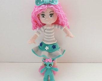 PDF tutorial of Lola crochet