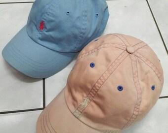 Sale!! Bundle Vintage Polo By Ralph Lauren Cap Hat