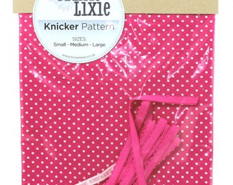 spotty knicker kit