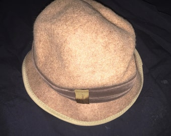 Vintage GRAY Saks Fifth Avenue Hat