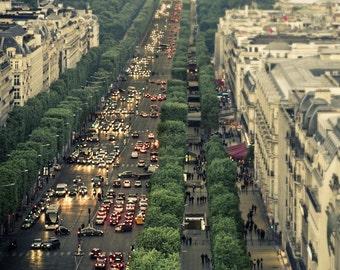 Paris photography, Paris photo, Paris Art, Paris By Night, 8x10