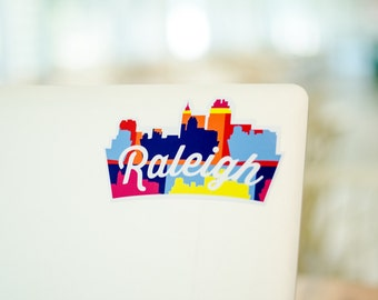 Sticker - Raleigh Skyline