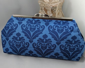 The Damask Clasp Clutch