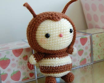 Bee Amigurumi Pattern