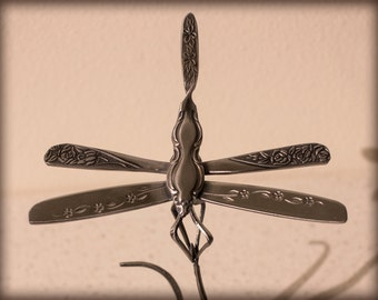 Dragonfly On Blade of Grass ~ Each Made to Order!!