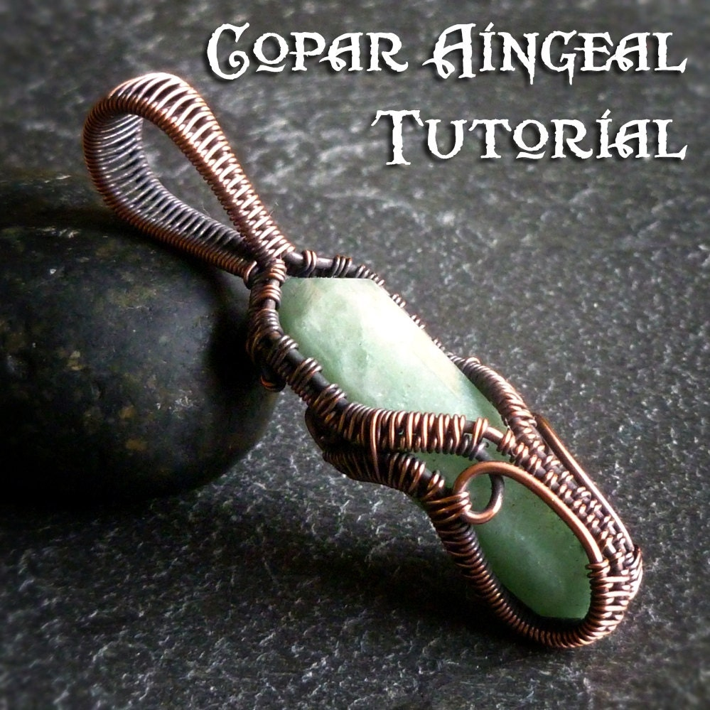 TUTORIAL - Ornamental Cage Wrap - Pendant Lesson - Wire Wrapped ...