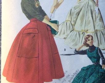 McCalls 3378 Skirt Dress Jumper
