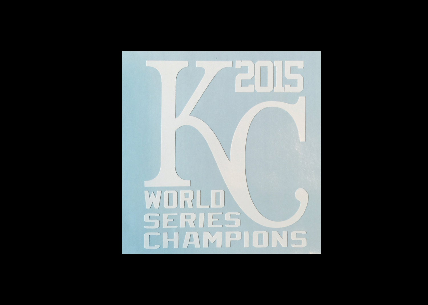 Kansas City Royals Vinyl Decal KC World Series - Custom vinyl decals kansas city