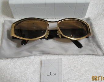 Authentic Christian Dior Sunglasses Frame Only Made In Austria