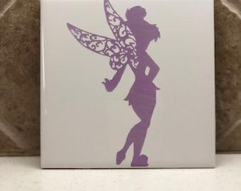 Handmade Tinkerbell Trivet/ Hotplate