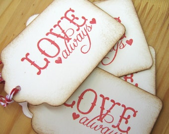 Love Always Gift Tags