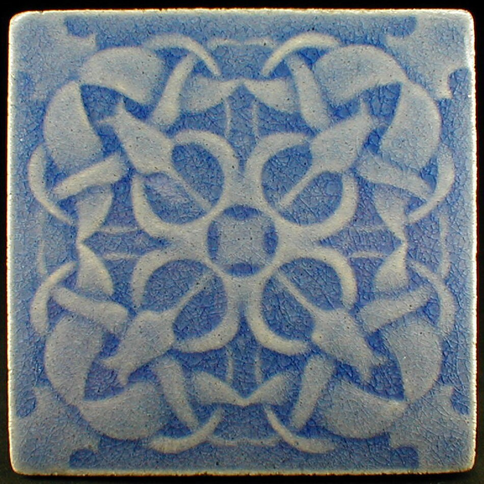 Tulip tile ceramic tile backsplash tile fireplace tile art zoom dailygadgetfo Gallery