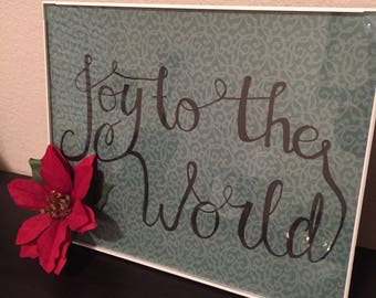 Framed Art - Joy to the World