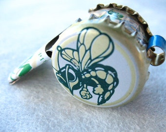 Whistle Crown Bee  Flowers   Roller Derby   Beer Cap   Art    Coach Gift   Jewelry Necklace   Party Favors   Noisemakers  Team Sports