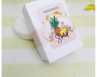 Handmade Soap Labels, Soap Bar label, Natural Soap label | Set 9 Label