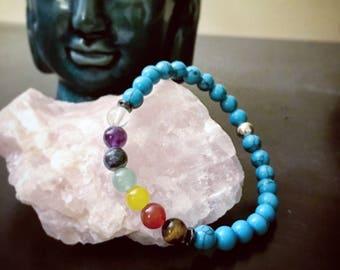 Turquoise Chakra Balancing Bracelet