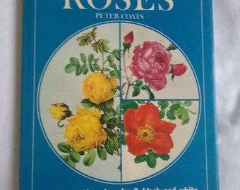 Vintage Roses Book - 119 Illustrations In Color And Black And White - Botanical Book - Illustrated Book - Gardens - Floral - Horticulture