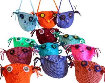 Girls Purse, owl purse