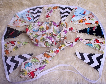 Baby boy Sitter 9-12 month, Photographers prop,cake smash sets,With bunting,nappy/diaper cover,and neck ties in each set,cotton,