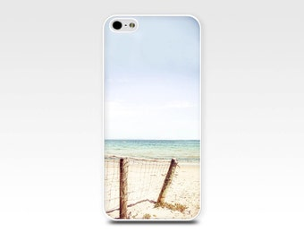 beach scene iphone case 5s iphone 4s case nautical iphone 6 photography case fine art iphone 4 case 5 pastel blue summer case lilac aqua