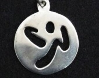 Zumba inpired pendant, Zumba, Zumba lovers