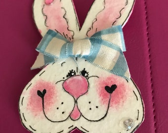 Large Easter Bunny Pin