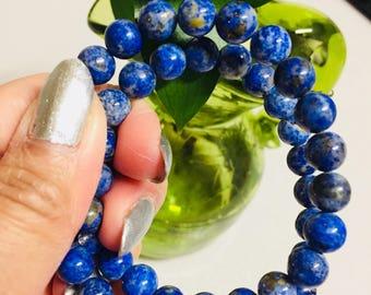 Beautiful Blue Lapis Lazuli from Pakistan. Charms/Healing Power/Jewelry Making/Bracelet/Necklace SN 461