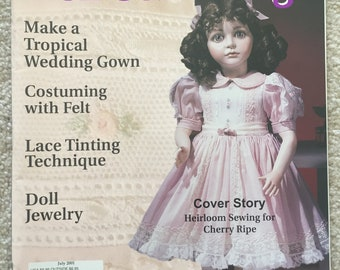 Doll Costuming magazine; July 2001 issue