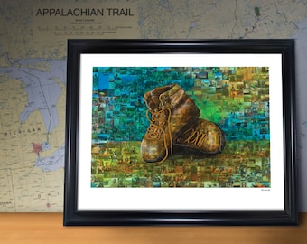 Paul's Boots 18 x 24 Poster Print