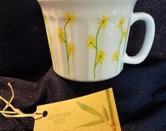 Yellow Daisies Over-Sized Mug