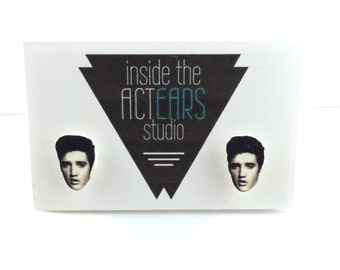 Elvis Presley Handmade Earrings