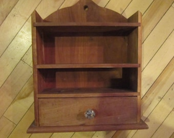 wood wall shelf cabinet shaker look vintage wall cabinet dovetailed