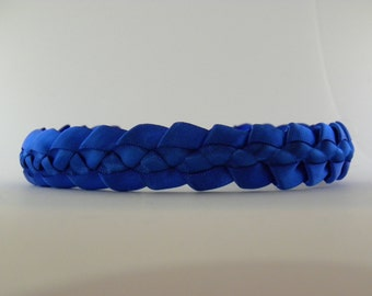 Hand Braided Ribbon Headband