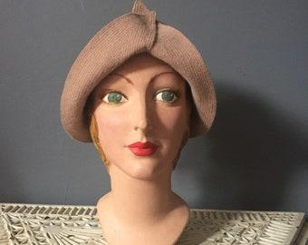 1920s cloche hat /1920s hat