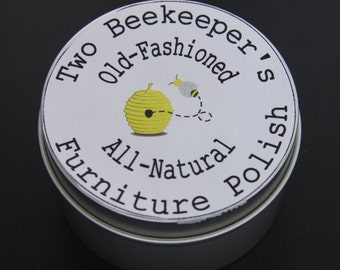 Two Beekeepers Old-Fashioned All-Natural Furniture Polish