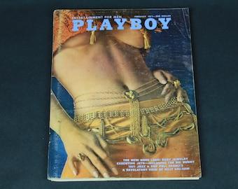 70's Playboy Magazine February 1971