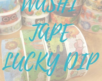 Washi Tape Lucky Dip