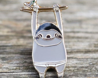 BB Sloth Lapel Pin