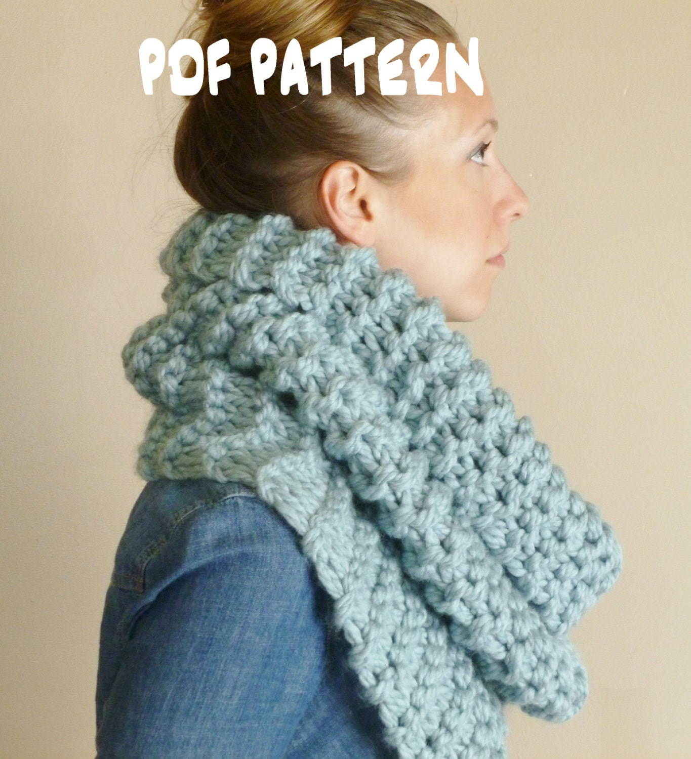 Chunky scarf knitting pattern the strasburg scarf outlander zoom bankloansurffo Choice Image