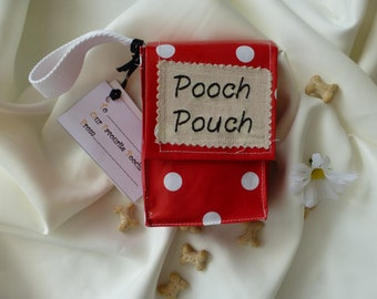 Pooch Pouch.  Doggy Gift Bag a Novelty,  practical gift for dog owners and walkers, or for your favourite 'Pooch'