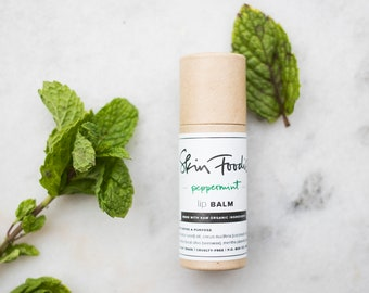 peppermint | organic | lip balm
