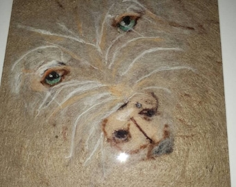 Felted Portrait of your favorite